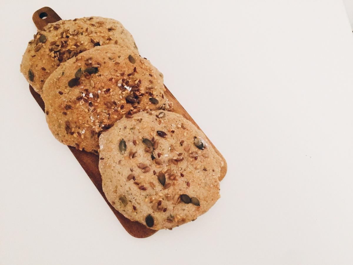 Manhãs Saudáveis | Pão de Linhaça e Trigo Sarraceno